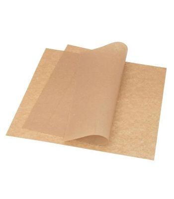 Бумага оберточная крафт,парафин 380х380 мм,500 шт. в уп (108-042)