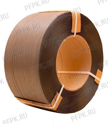 Лента полипропиленовая 12мм х0,5х3000 коричневая ТДП