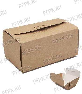 Коробка бум. для наггетсов 150х91мм h70мм крафт (L) 411-005 [100/300]