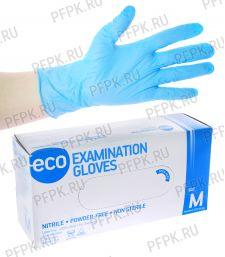 Перчатки нитриловые (уп. 200 шт/100 пар) M (ECO-02-02) [1/10]