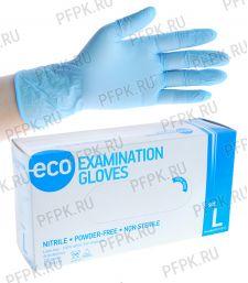 Перчатки нитриловые (уп. 200 шт/100 пар) L (ECO-02-03) [1/10]