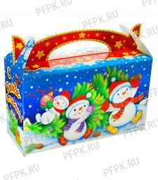 Коробка картон. 500 гр С Новым годом [1/325]