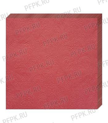 Салфетки бум. DESNA BOUQUET 33х33, 3-сл.,с рис. (16 листов) Барокко.Красный [1/12]
