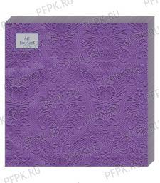Салфетки бум. DESNA BOUQUET 33х33, 3-сл.,с рис. (16 листов) Барокко Фиолетовый [1/12]