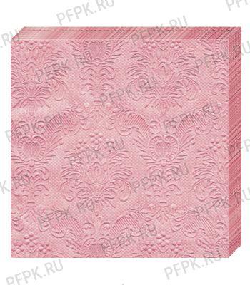 Салфетки бум. DESNA BOUQUET 33х33, 3-сл.,с рис. (16 листов) Барокко.Античный розовый [1/12]