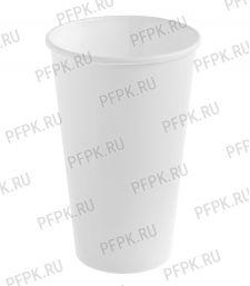 Стакан 400/473 мл SP16 бумажный Белый [50/1000]