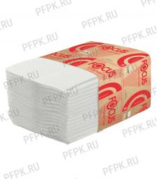 Бумага туал. листовая (V-сл) 2-х слойная (250 листов) Focus Premium (299-969/5049979) [30/30]