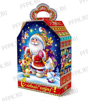 Коробка картон. 2500 гр Новогодняя компания [1/50]