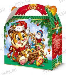Коробка картон. 1300 гр Подарок [1/120]