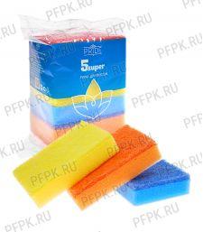 Губки для посуды 5 СУПЕР (набор из 5 шт.) [1/30]