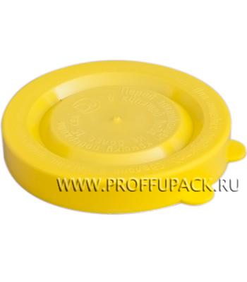 Крышки для банок полиэтиленовые Желтые [350/350]