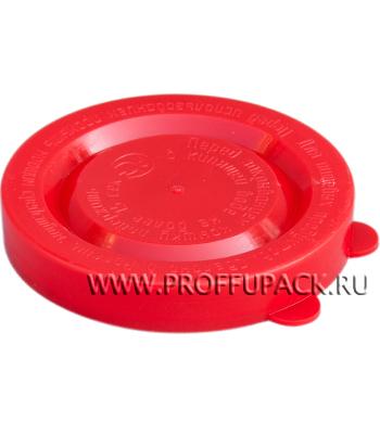 Крышки для банок полиэтиленовые Красные [350/350]