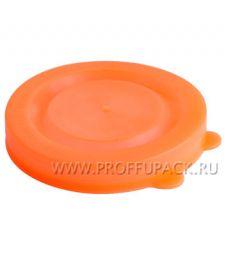 Крышки для банок полиэтиленовые Оранжевые [350/350]