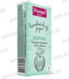 Платки носовые PREMIAL 3-слойные (уп.10 листов) Яблоко [6/240]