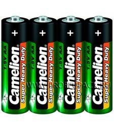 Батарейки CAMELION Super R6 (АА) солевые (спайка 4 шт) [60/960]