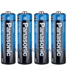 Батарейки PANASONIC R6 (AA) солевые (спайка 4 шт) General Purpose [60/600]