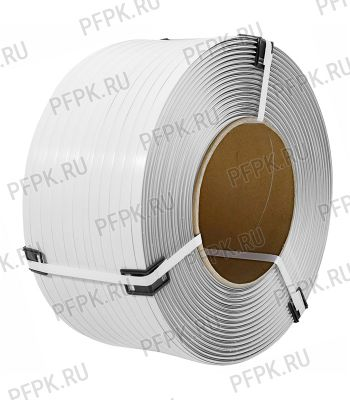 Лента полипропиленовая 19мм х1,0х1000 ТС Белая