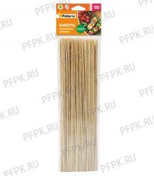 Шампуры для шашлыка 300мм PATERRA (100 шт) (401-696) [1/100]
