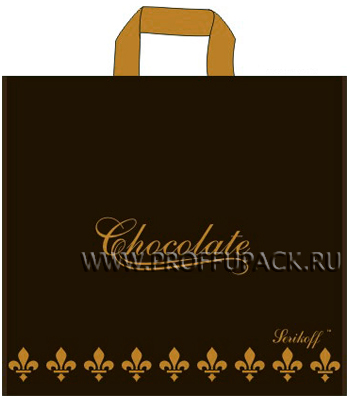 КОНЬЯК 40х40+4 (95мкм) матовый, SERIKOFF Шоколад (коричневый) [25/400]