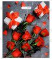 ЯНТАРЬ, вырубная ручка, 38х45+3 (60мкм) ламинат, ТИКО Подарочный букет [50/500]