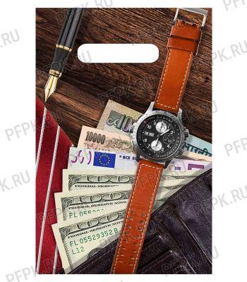 БУТИК, вырубная ручка, 20х30 (30мкм) ПВД, ТИКО Мужской NEW [100/3000]