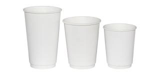 Бумажные стаканы для холодных и горячих напитков оптом
