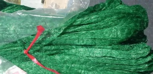 Сетка - рукав для упаковки новогодних елок и сосен: пополнение ассортимента